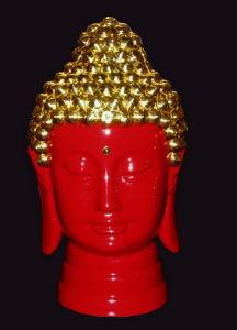 Lacquer Thread Porcelain Buddha Statue (TS0-01R)