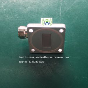 C-Band Microwave Unit Waveguide to N Type Adapter pictures & photos