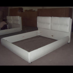 New Style Leather Bed S04