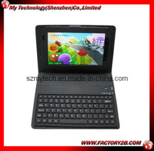 Bluetooth Keyboard With Leather Case for Samsung Galaxy Tab P1000