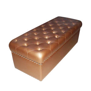 PU Leather Ottoman Bench (OTM-03) pictures & photos
