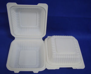 6inch Biodegradable Hamburger Box Sandwich Box pictures & photos