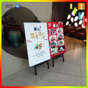 Store Commodity Price Exhibition Tripod Banner Stand pictures & photos