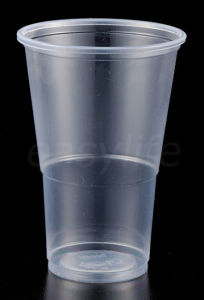 Easylife C1082118 10oz (320ml) Half Pint Tumbler PP Clear Plastic Cup pictures & photos