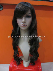 Long Synthetic Hair Wigs Curling Hairpiece