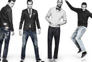 Wholesale Fashionable Low Waisted Straight 100%Cotton Denim Men Jeans pictures & photos