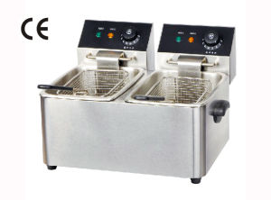 2-Tank Electric Fryer (YF-4L-2, YF-6L-2)