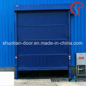 Industrial Electric PVC High Speed Door, High Speed Rolling Door, High Speed Roller Shutter Door (ST-001) pictures & photos