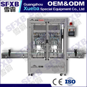 Sfgg-500-8 Servo Driven Automatic Paste Filling Machine pictures & photos