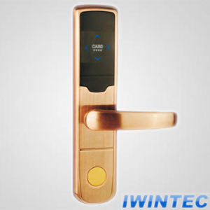 Electronic Lock for Hotel Door (V-RF2009C-HB) pictures & photos