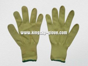 10g Aramid String Knit Cut Resistance Work Glove-2306 pictures & photos
