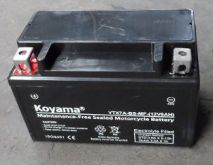 12V 7ah Long Life Starting Motorcycle Battery Ytx7a-BS pictures & photos