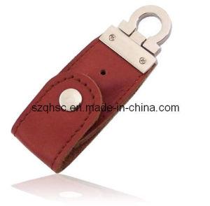 Leather USB Flash Drive (QHSC118)