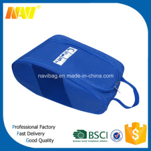 Fashion High Quality Polyester Golf Shoe Bag with Zipper pictures & photos