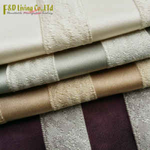 Contemporary Stripe Jacquard Woven Upholstery Fabric