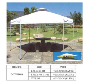Hexagon Foldable Gazebo With Window (OCT-FG003) pictures & photos