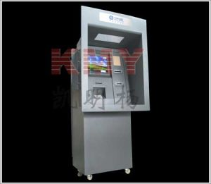 Through Wall Self Payment Touchscreen Kiosk with Card Reader (8301) pictures & photos