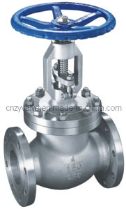 API Class150 4′′ Stainless Steel Globe Valve pictures & photos