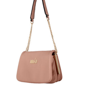 Lady Chain PU Fashion Cross Bag (N-1057)