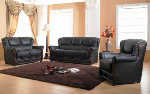 Leather Sofa - 2003#