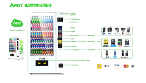 Drink and Snacks Vending Machine by Bill and Coin Operated pictures & photos