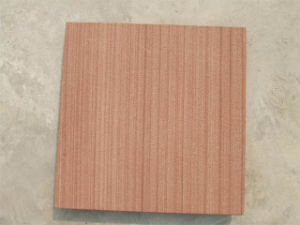 Red Pitch Wood with Light Blasting Finish (001)