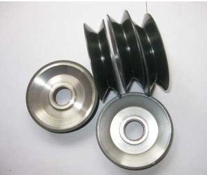 Aluminium Pulley with Ceramic Coating D90*D22*H25 for Enamelling Machine pictures & photos