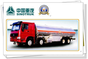 380HP Sinotruk HOWO 8X4 Oil Tank Truck with Oil Tanker Trailer 33m3 pictures & photos