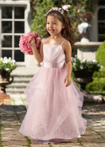 Ever-Beauty Little Girl Dress, Flower Girl Dress -032