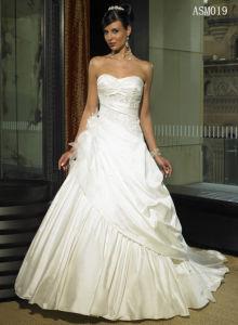 A Line Bridal Gown Winter Wedding Dresses (Asm019)