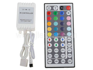 IR Remote Controller 44 Key for RGB LED Light Strip (JR-K002)