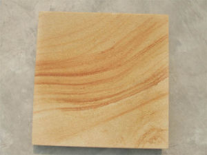 Yellow Wood Grain with Light Blasting Finish