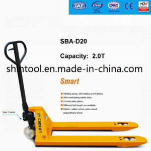 China Hand Pallet Truck Sba-D20 2.0 Ton pictures & photos