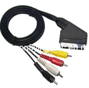 Scart Cable DF-V08 pictures & photos