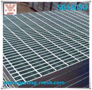 Steel Grating with Serrated Bearing Bar Hot-DIP