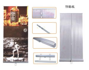Telescoping Pole Roll Up Banner Stand (YY-RS-8L)