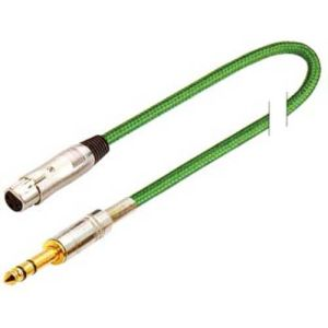3.5 mm Stereo to XLR Male Splitter Microphone Cable pictures & photos