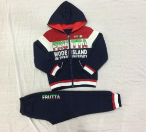 Kids Boy Sports Track Suit for Children Clothes Sq-6702 pictures & photos