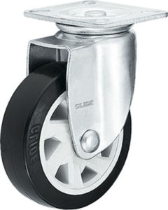 Medium Heavy Duty PU Caster (G6220) pictures & photos