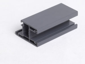 Hot Resistence and UV-Resistence PVC Profiles for Fixed Frame Windows pictures & photos