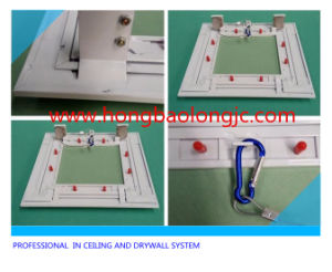 Inspection Door/ Gypsum Board Ceiling Access Door with Touch Lock 400X400mm pictures & photos