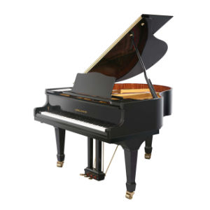High Quality Lingjiang Black Polished Grand Pianos