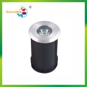 Mini 1W 42mm Diameter LED Underground Light, Garden Light pictures & photos