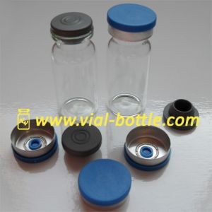 10cc Empty Antibiotic Bottles Stoppers Blue Crimped Seals for Drostanolone pictures & photos