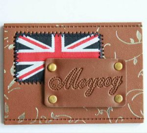 Custom Branded High Quality Leather Label pictures & photos