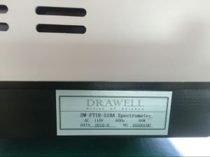 High Stability Lab Instrument Ftir Spectrometer From Drawell Scientific pictures & photos