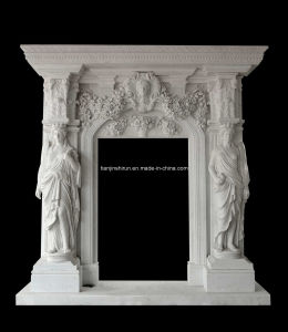 White Marble Carving Door Surrounding (DF1655) pictures & photos