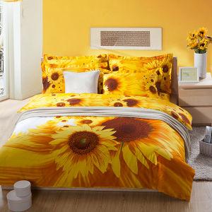 Sunflower 3D Bedding Set pictures & photos