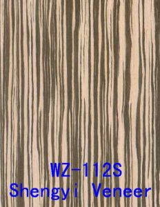 Recon Edge Banding Finger Joint Veneer White Zebra (WZ-112S)