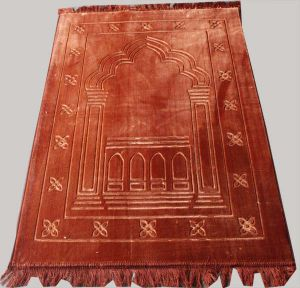 Most Popular 100% Polyester Muslim Rugs pictures & photos